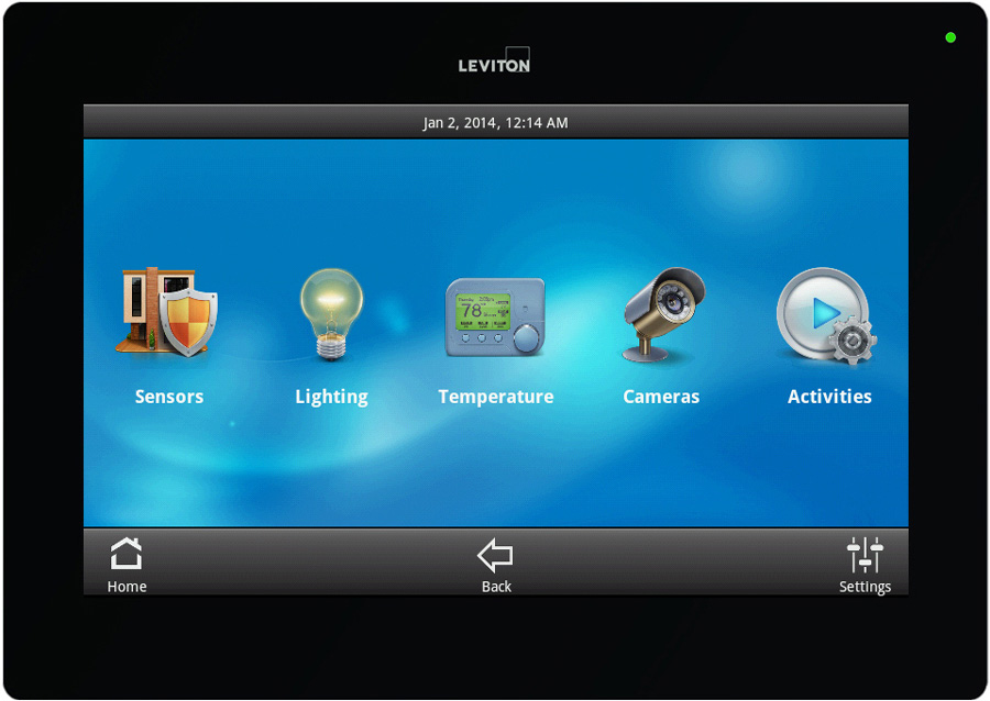 Leviton OmniTouch 7 Touchscreen