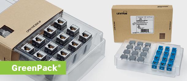 New Leviton GreenPack packaging