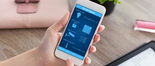 From Smartphone to Smart Home