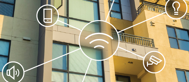Support Smart Homes with Wireless Structured Media Centers