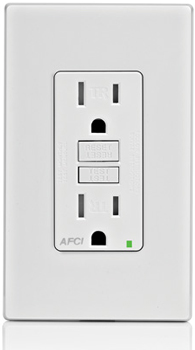 Leviton AFCI Outlet