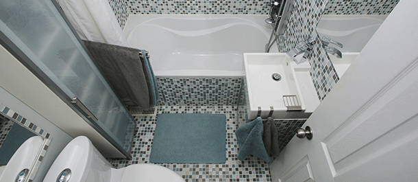 Budget bathroom renovations 5 tips for designing a small space home improvement leviton blog - Bathroom ideas for small spaces on a budget collection ...