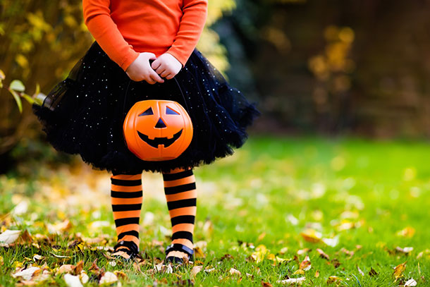Halloween Safety Tips, Fitted Costume
