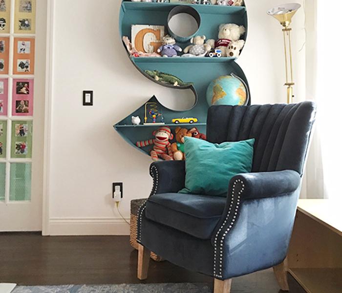 Happy Homebodies Bookshelf