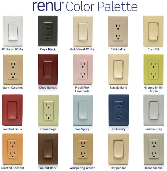 Accessorize With Outlets Switches And