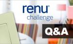 Renu Challenge - Q&A