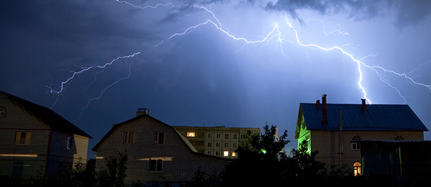 Is Your Home Protected From Lightning Strikes Gt Safety