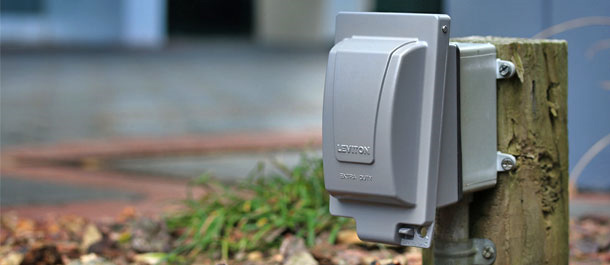 Weatherproof Boxes/Covers - For Backyards that Require Extra-Duty Protection